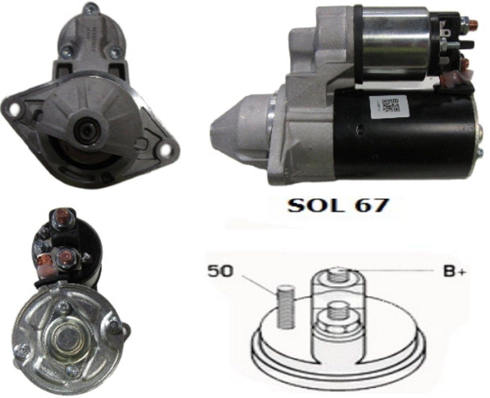 Стартер Bosch 0001107408  0001107521