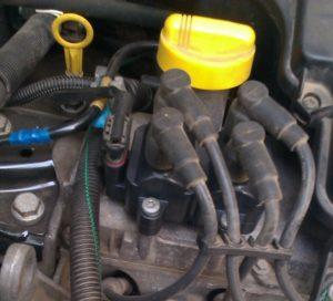Катушка зажигания Bosch 0986221060 renault 22 43 361 34R