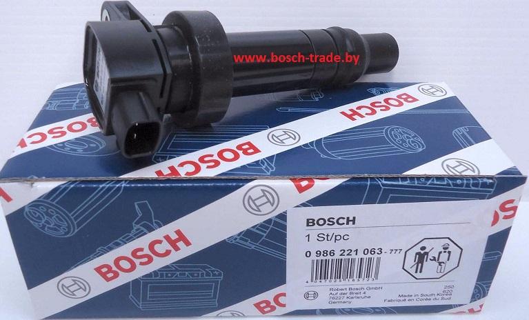 Катушка зажигания Bosch 0986221063