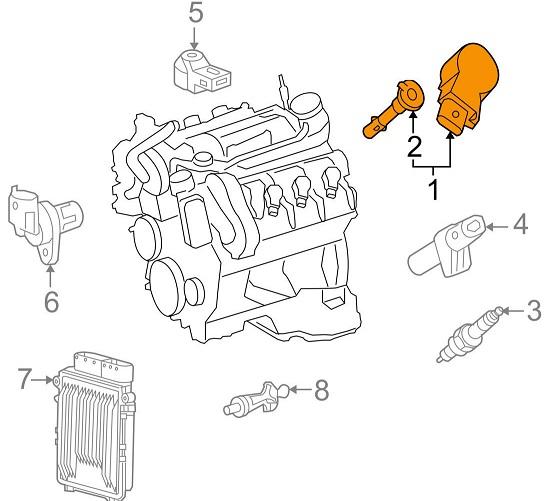 Катушка зажигания Bosch 0986221066 0001502580