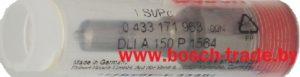 0433171963 распылитель форсунки Бош