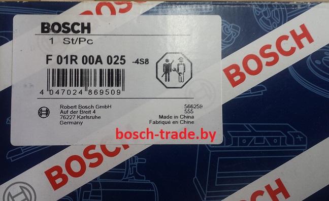 F01R00A025 катушка зажигания бош