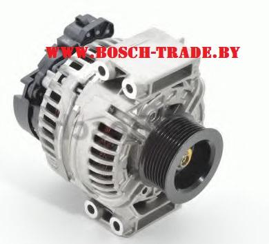 0124555008 генератор бош купить скания